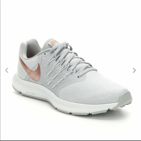 Nike Shoes - Nike Run Swift Womens Grey Bronze Shoes Size 8.5